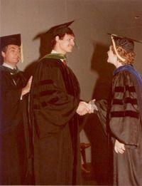 Dr. Szachowicz at Graduation